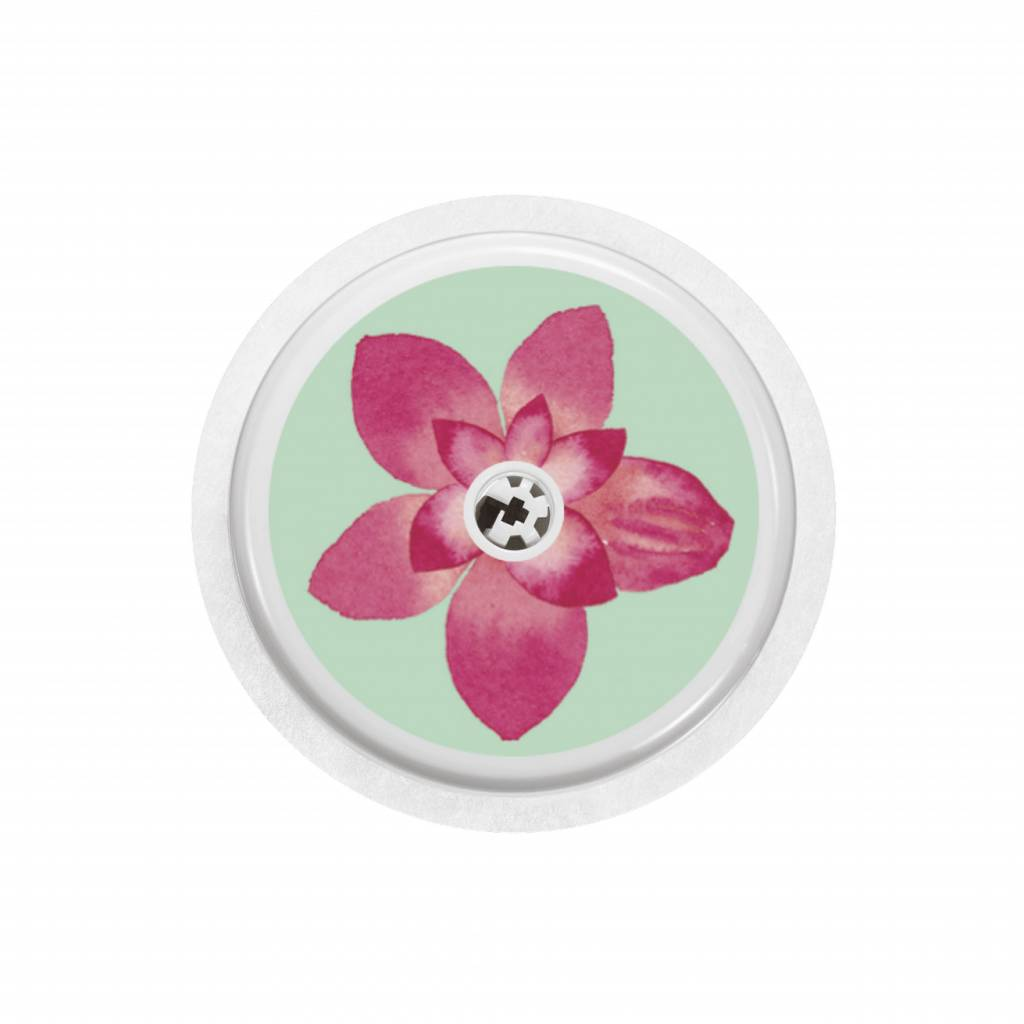 FLOWER Sensor Sticker - FreeStyle Libre-1