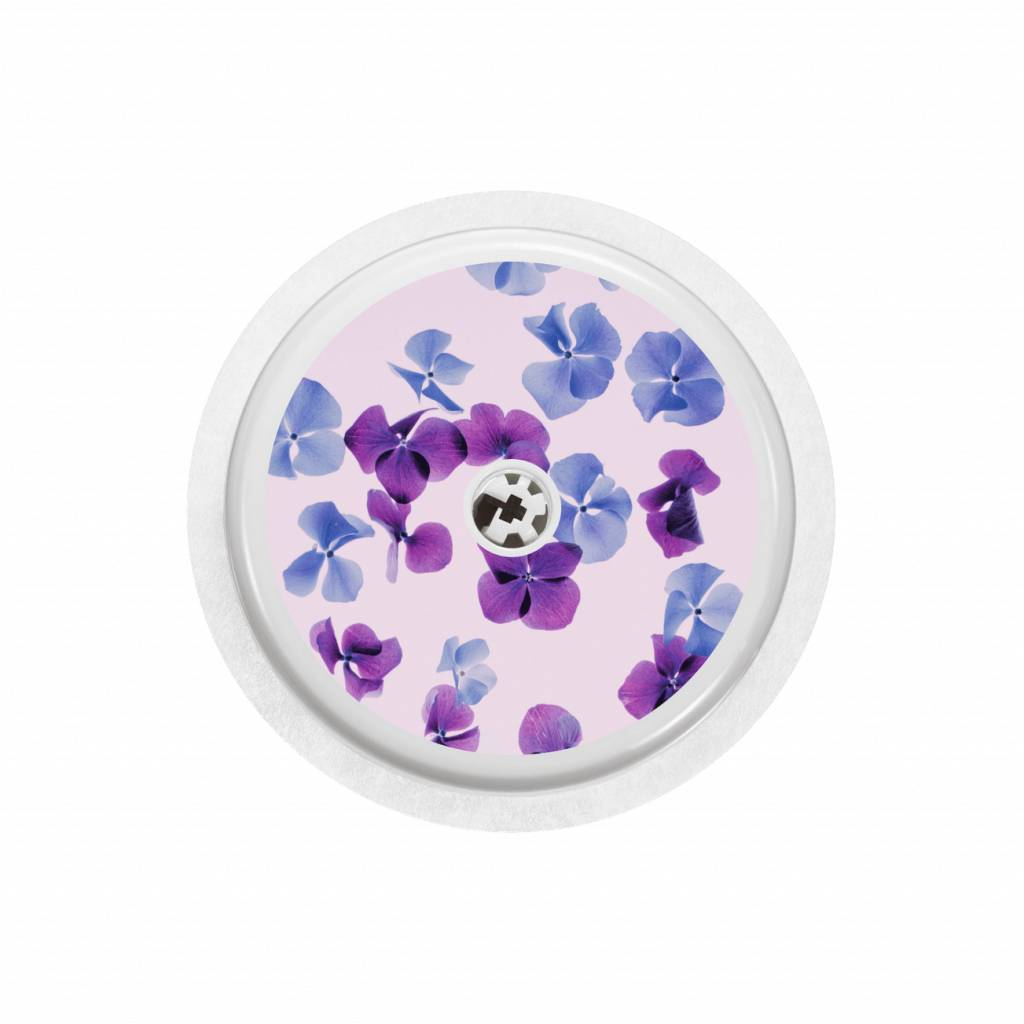 HYDRANGEA SENSOR STICKER - FreeStyle Libre-1