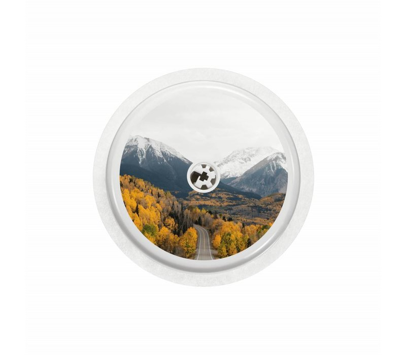 ROAD TRIP  Sensor Sticker - FreeStyle Libre