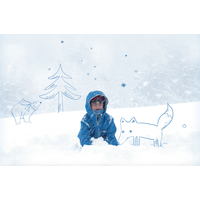KIDS Case  - Icebear (inkl. Patch)