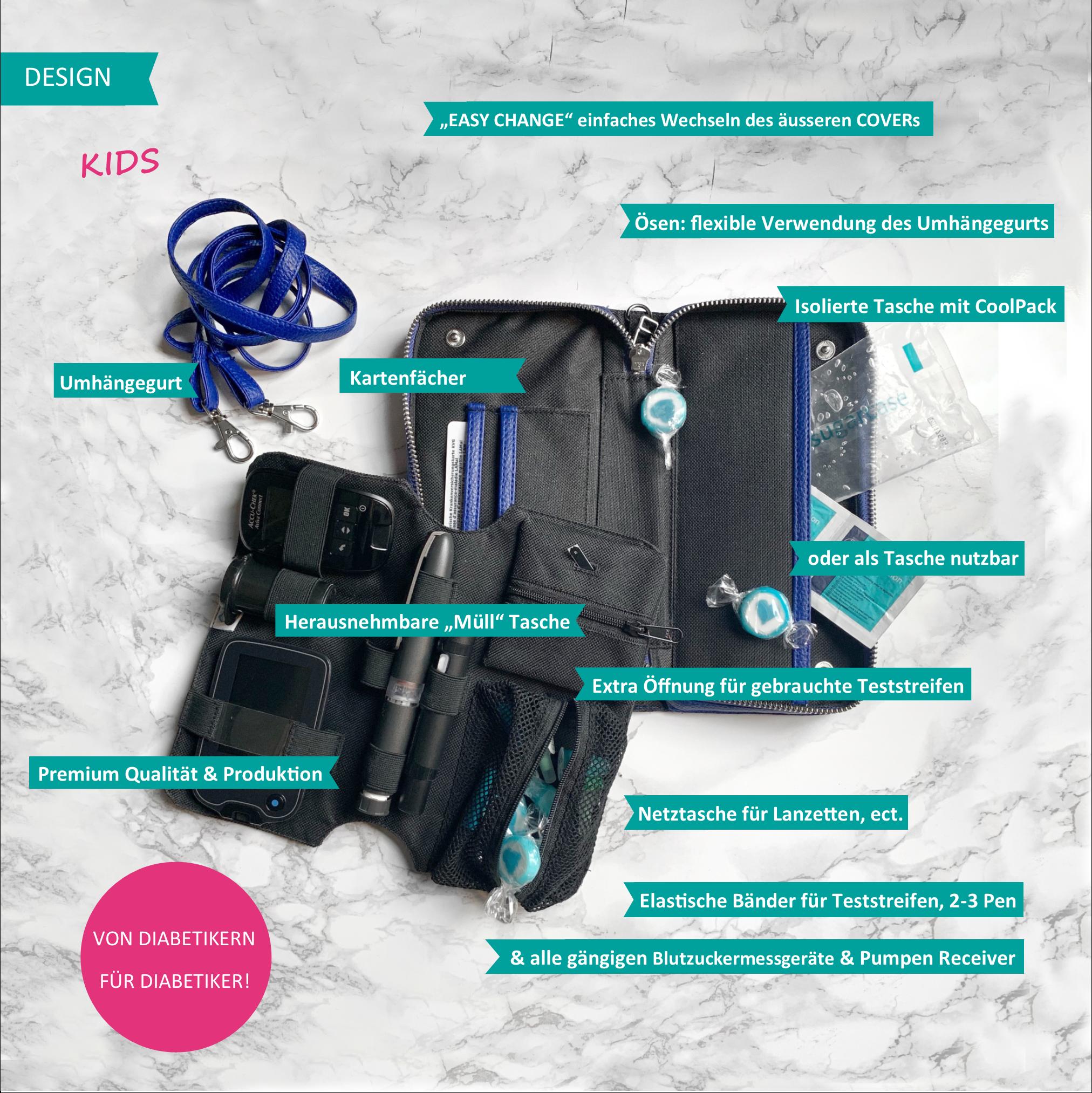 KIDS Case  - Icebear (inkl. Patch  & Gurt)-3