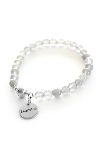 Bracelet en pierres précieuses pour diabétiques - Stone