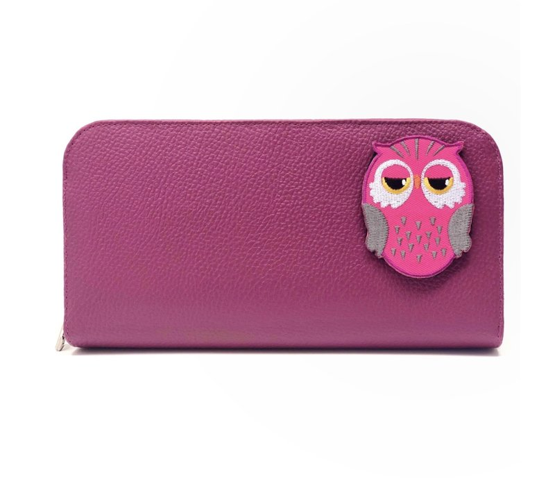 KIDS CASE - Owl Pink (Patch incl.)