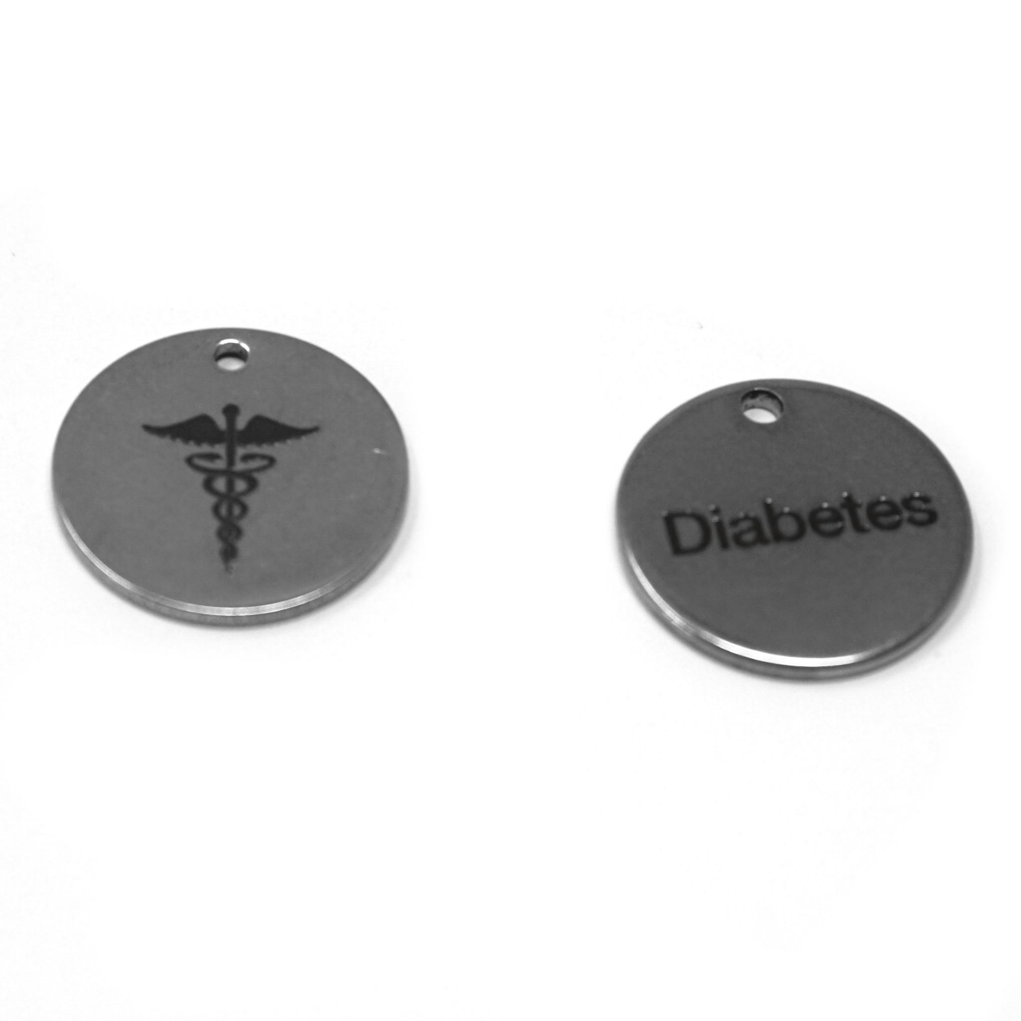 Diabetes Edelstein Armband  - Sea-2