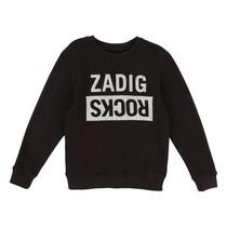 Zadig & voltaire Sweatshirt Black zadig rocks