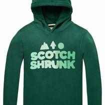 Scotch & Soda Hoody artworks green