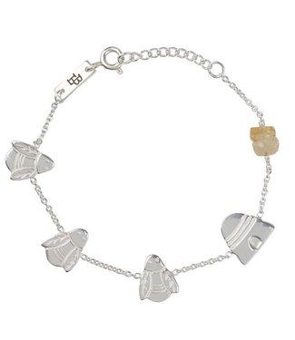 Lennebelle Petites Armband Queen Bee Zilver