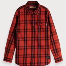 Scotch & Soda Plaid overhemd  Regular fit