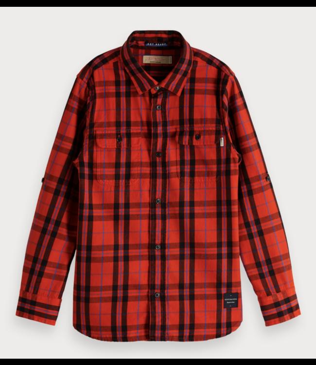 Plaid overhemd  Regular fit