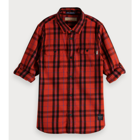 Plaid overhemd  Regular fit
