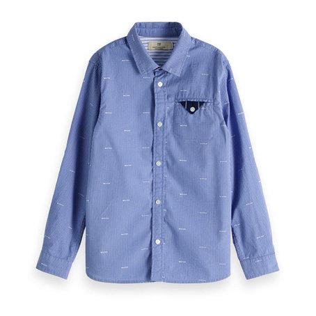 Overhemd met borstzak  Regular fit