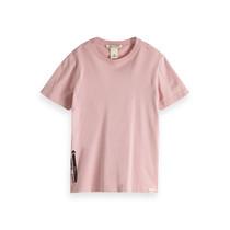 Scotch & Soda T-shirt van biologisch katoen met korte mouwen