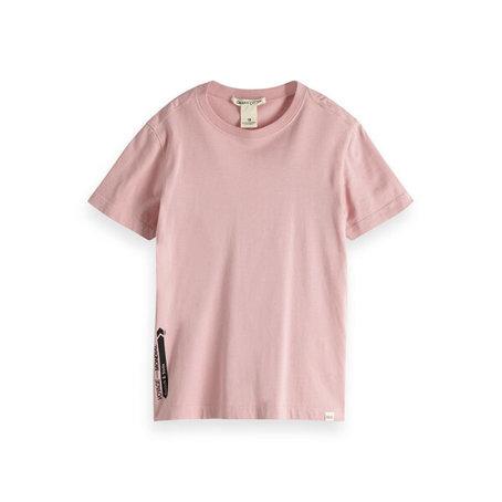 T-shirt van biologisch katoen met korte mouwen