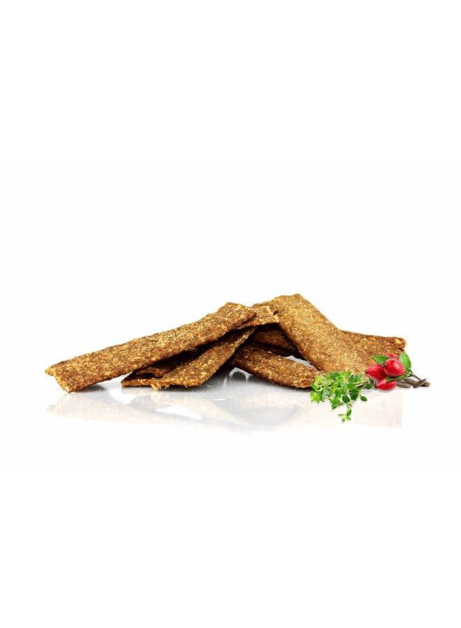 Kalkoen anti + wormkruiden vleesstrips