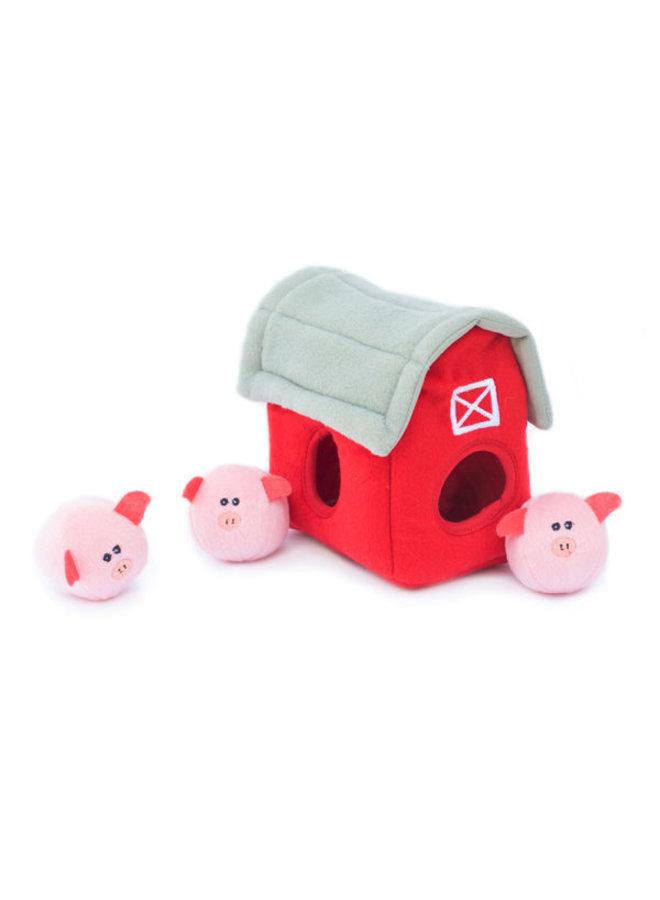 Burrow Pig Barn with Bubble Babiez