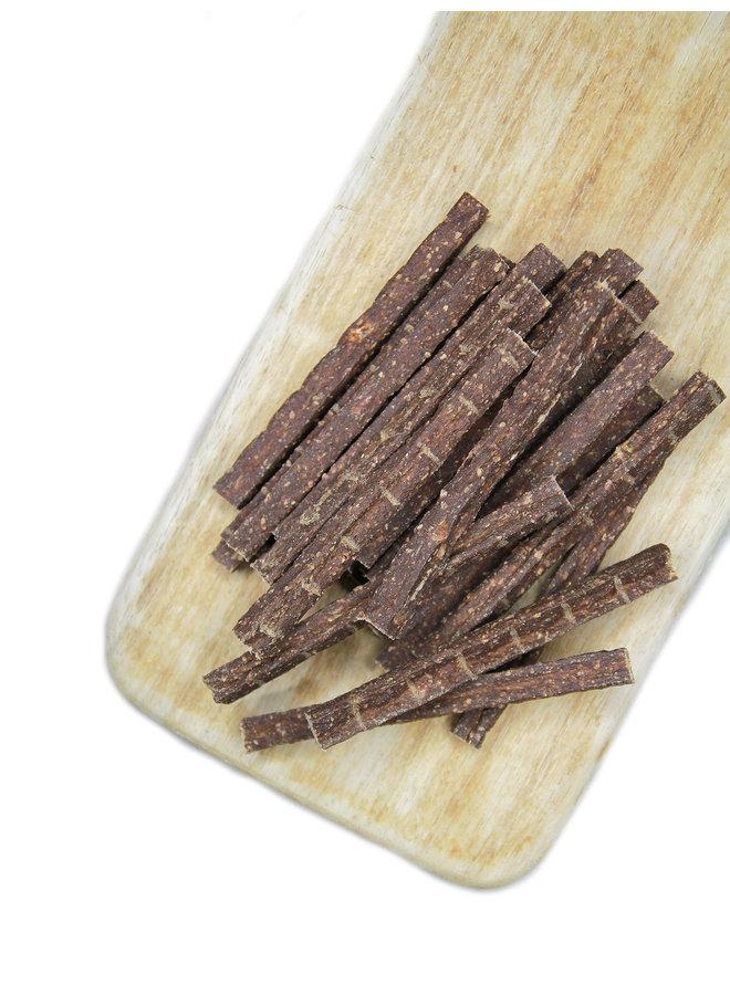 Stangerl lam fitness met bessen en quinoa
