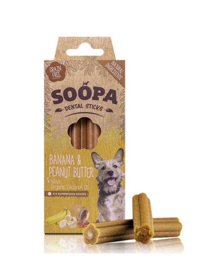 Dental Sticks - Banaan & Pindakaas