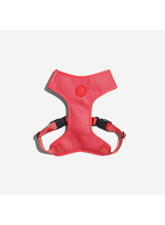 Adjustable Air Mesh Harness NEON CORAL