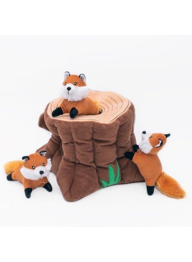 Zippy Burrow - Fox Stump