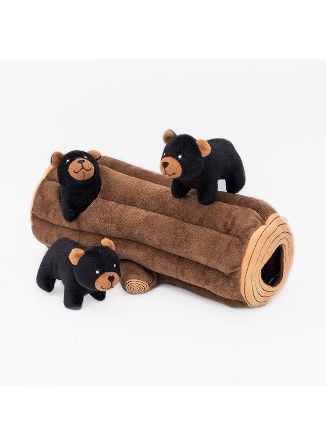 Zippy Burrow - Black Bear Log