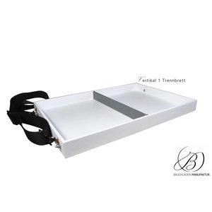 Bauchladen Vassoio mit Trennfach: Größe S