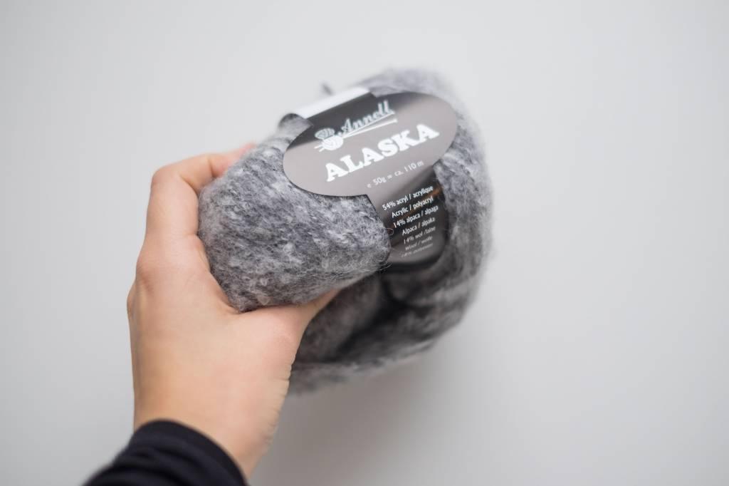 Annell Annell Alaska - middelgrijs-wit 4257