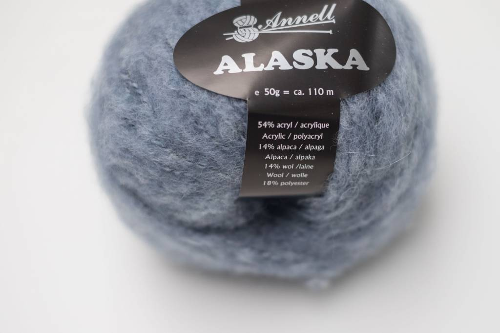 Annell Annell Alaska - Jeans-Wit 4236