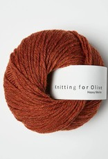 knitting for olive Knitting for Olive Heavy Merino - Rust