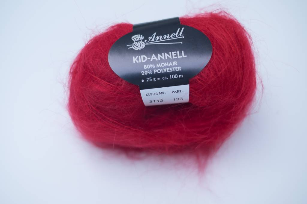 Annell Kid-Annell - Rood 3112