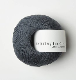 Knitting for Olive Cotton-Cashmere - Dusty Blue Whale
