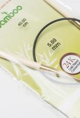 KnitPro Knitpro Bamboo rondbreinaald - 40cm