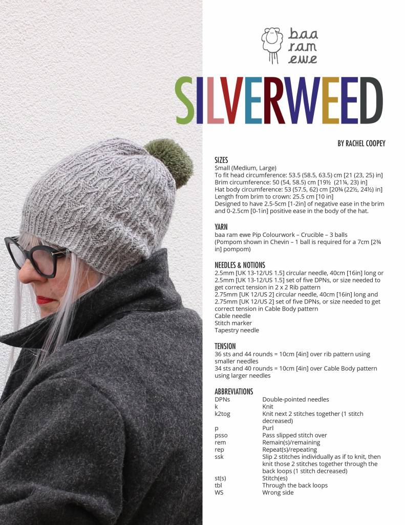 Baa Ram Ewe Silverweed Patroon Toasty 3- Rachel coopey