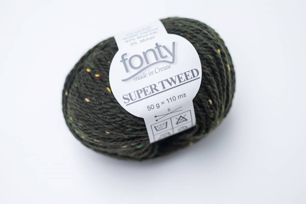 Fonty Fonty Super Tweed - kleur 10