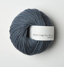 knitting for olive Knitting for Olive Heavy Merino - Dusty Petroleum Blue