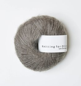 knitting for olive Knitting for Olive Silk Mohair - Grayish Brown