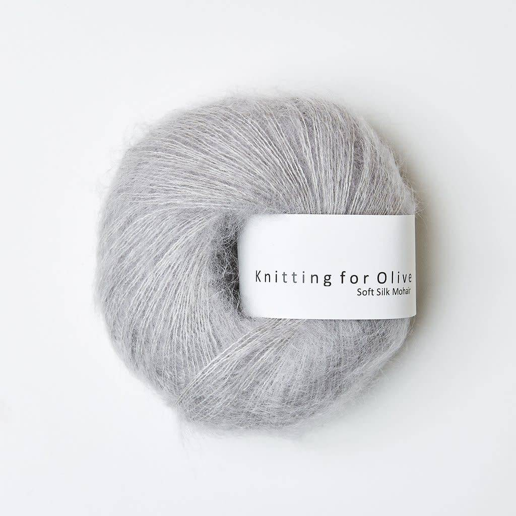 knitting for olive Knitting for Olive Silk Mohair  -Zinc