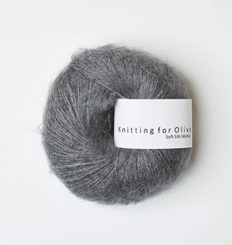 knitting for olive Knitting for Olive Silk Mohair - Lead