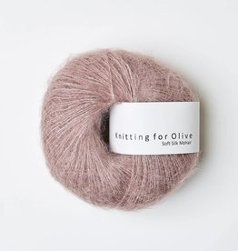 knitting for olive Knitting for Olive Silk Mohair - Dusty Rose