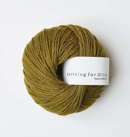 knitting for olive Knitting for Olive Heavy Merino - Ocher Green