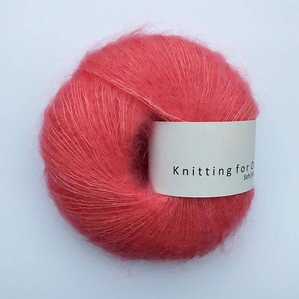 knitting for olive Knitting for Olive Silk Mohair - Coral
