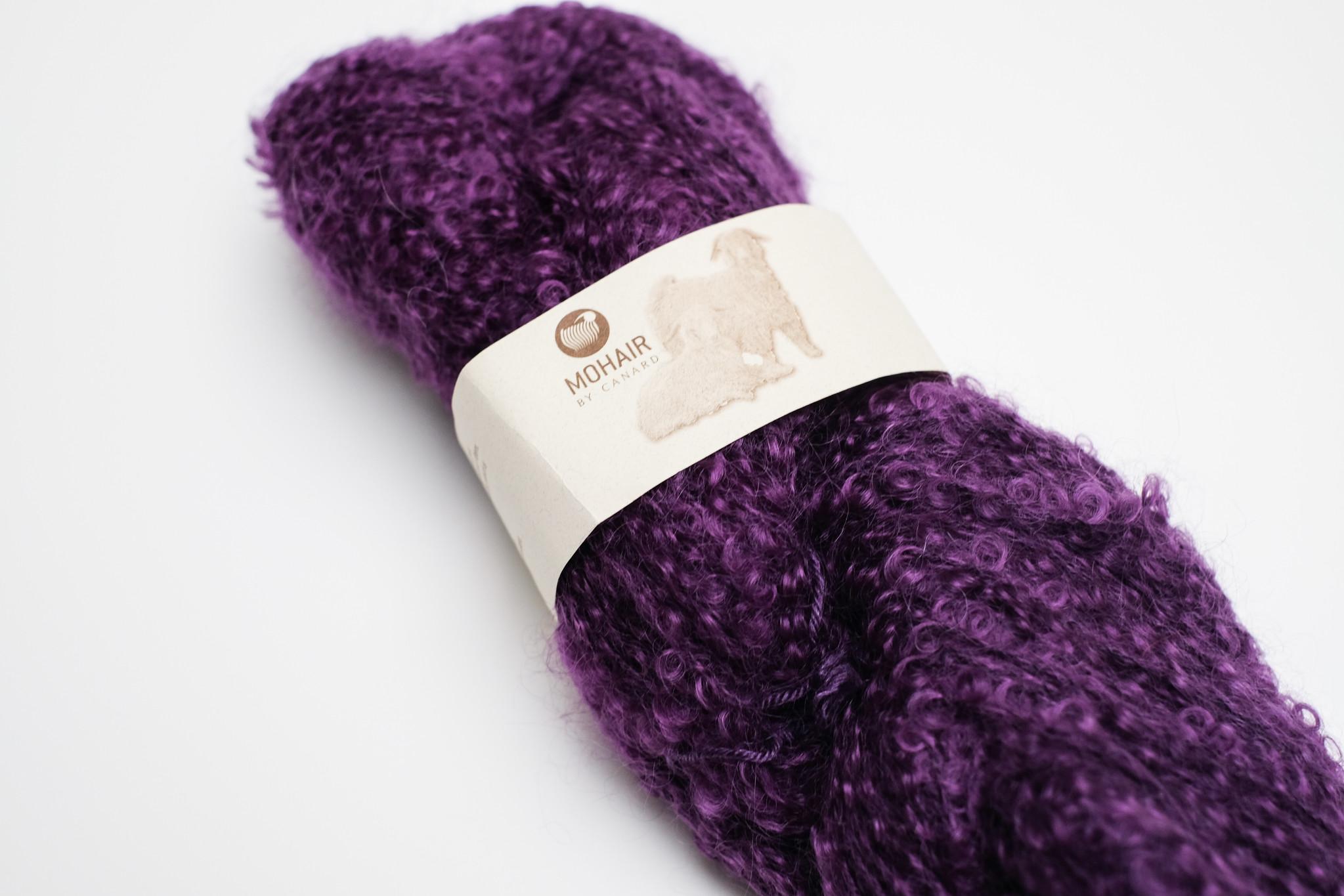 Mohair By Canard Mohair By Canard bouclé - Violet 1032