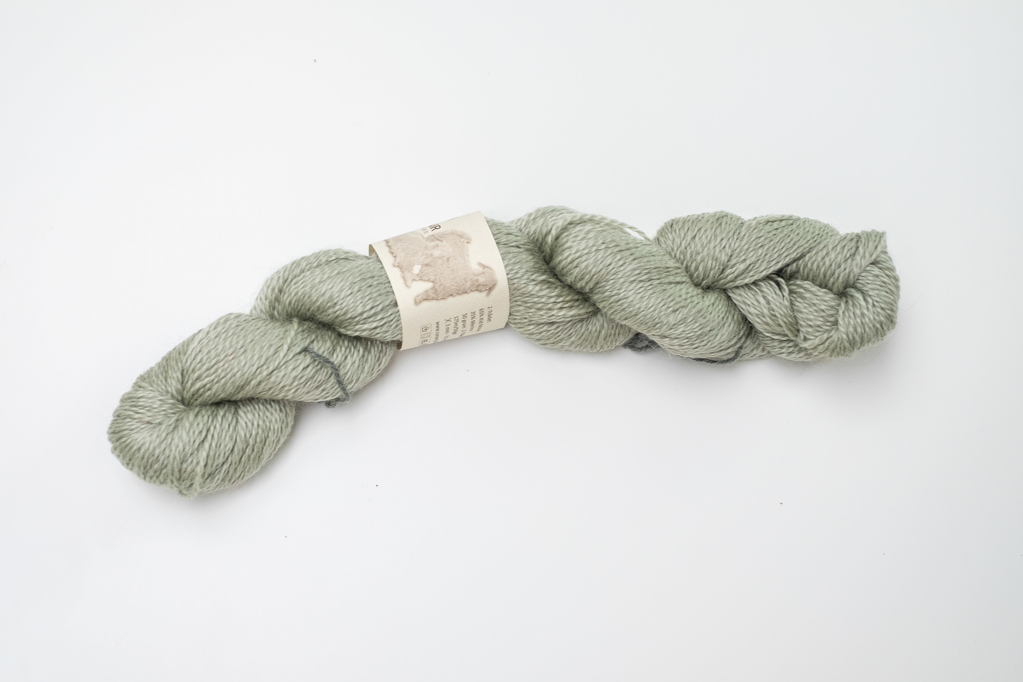 Mohair By Canard Mohair By Canard 2-Ply  - Thee groen