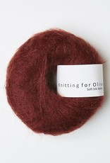 knitting for olive Knitting for Olive Silk Mohair - Claret
