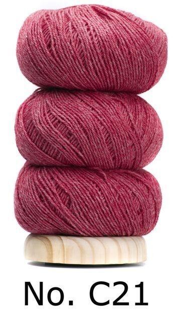 Geilsk Geilsk Bomuld og Uld - Raspberry C21