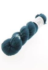 Wol met Verve Wol met Verve Merino Twist Sock - Tie Dye Dark Teal