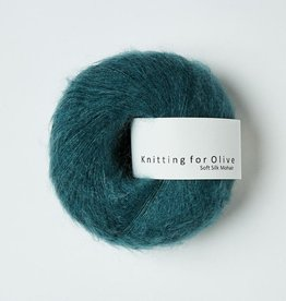 knitting for olive Knitting for Olive Silk Mohair - Petroleum Green