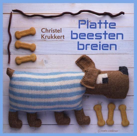 Lannoo Platte knuffels breien - Christel Krukkert