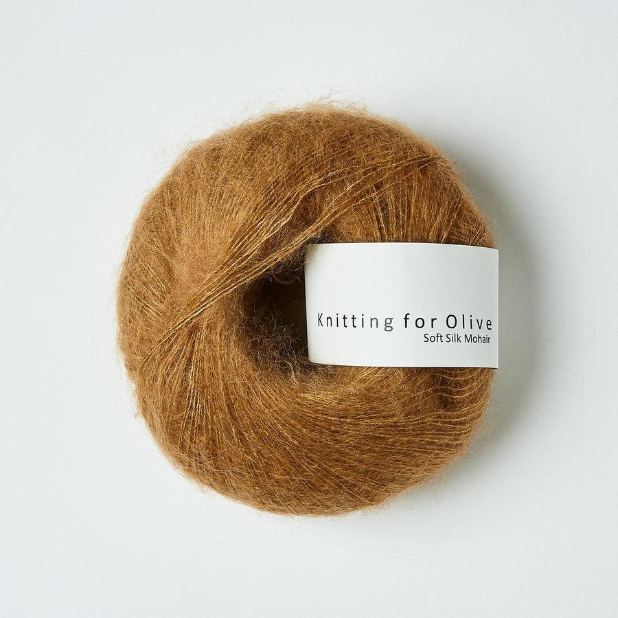 knitting for olive Knitting for Olive Silk Mohair - Dark Camel UK