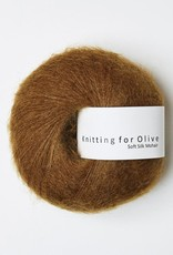 knitting for olive Knitting for Olive Silk Mohair - Ocher Brown