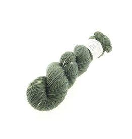 Wol met Verve Wol met Verve Merino Twist Sock - Tie Dye Olive